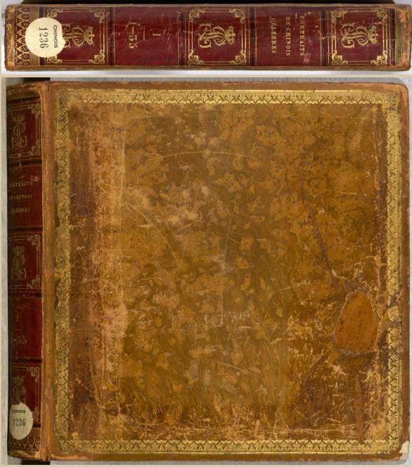18世纪《历代帝王圣贤名臣大儒遗像》彩绘插画