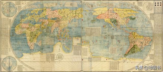 女儿国、一目国、矮人国?堪比《山海经》的《坤舆万国全图》