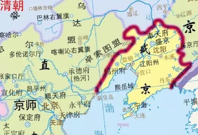 """清朝为了巩固疆域稳定性,设立了五个""""特别行政区"""""""